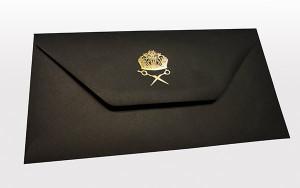 Gold Foiling Envelope Print